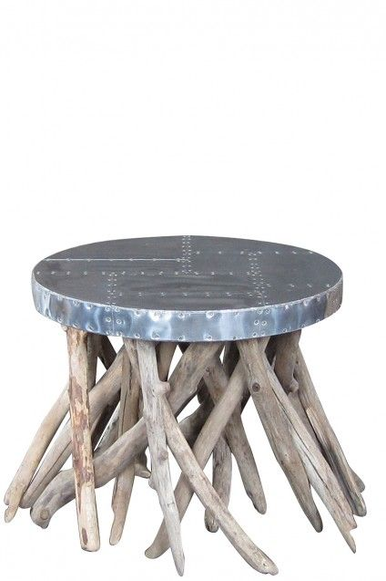 Merveilleux Sage Side Table