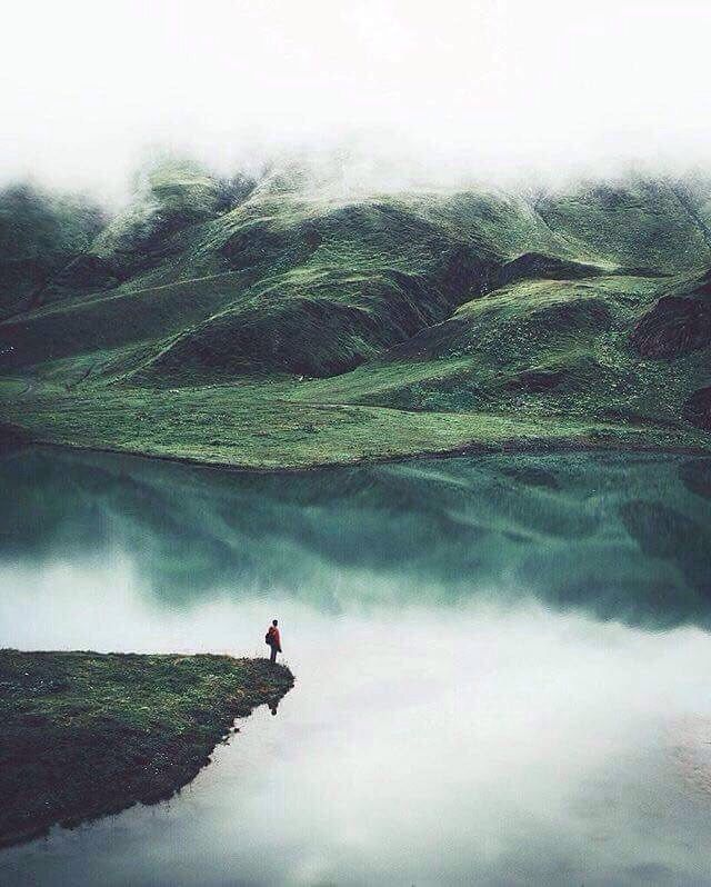 take me to the edge of myself.