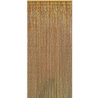 Natural Bamboo Beaded Curtain (Vietnam)