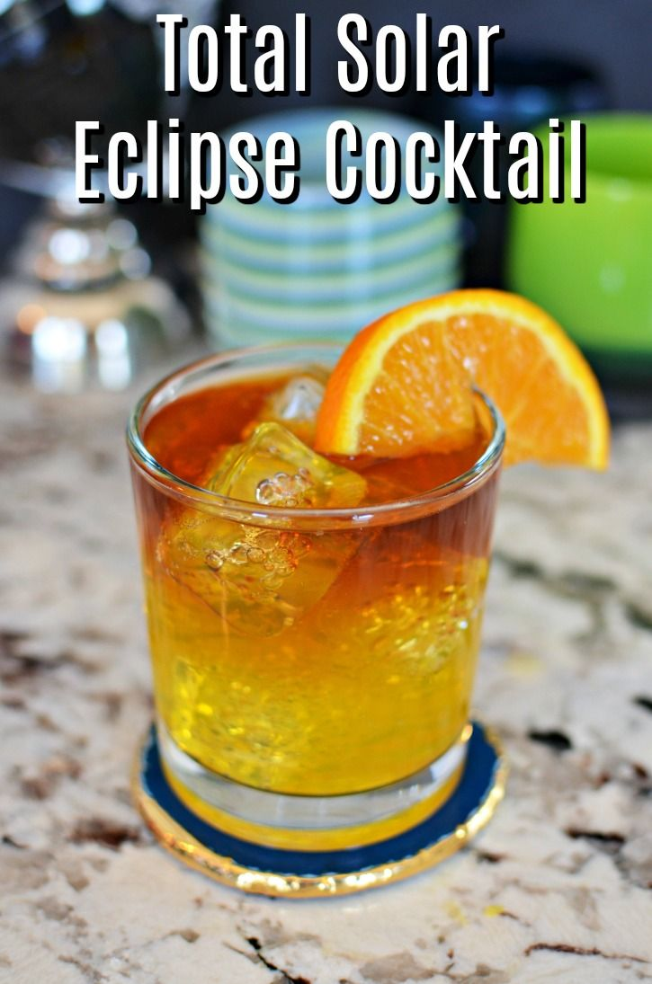 Getting ready for the Total Solar Eclipse this summer? This cocktail is the perfect way to kick off the celebration. Whether you are going to celebrate in the path of totality or view a partial solar eclipse from your home, this cocktail is absolutely delicious and a great way to mark the occasion.