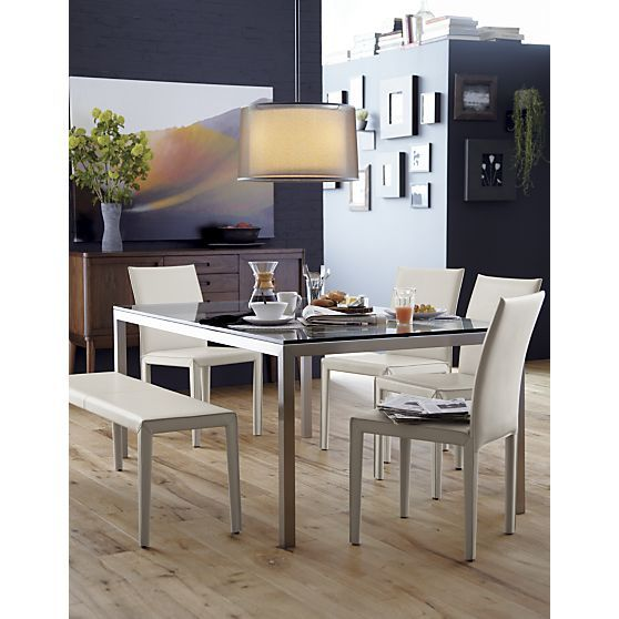 44 Best Dwell Dining Images On Pinterest Chair Set Gorgeous Crate And Barrel Room