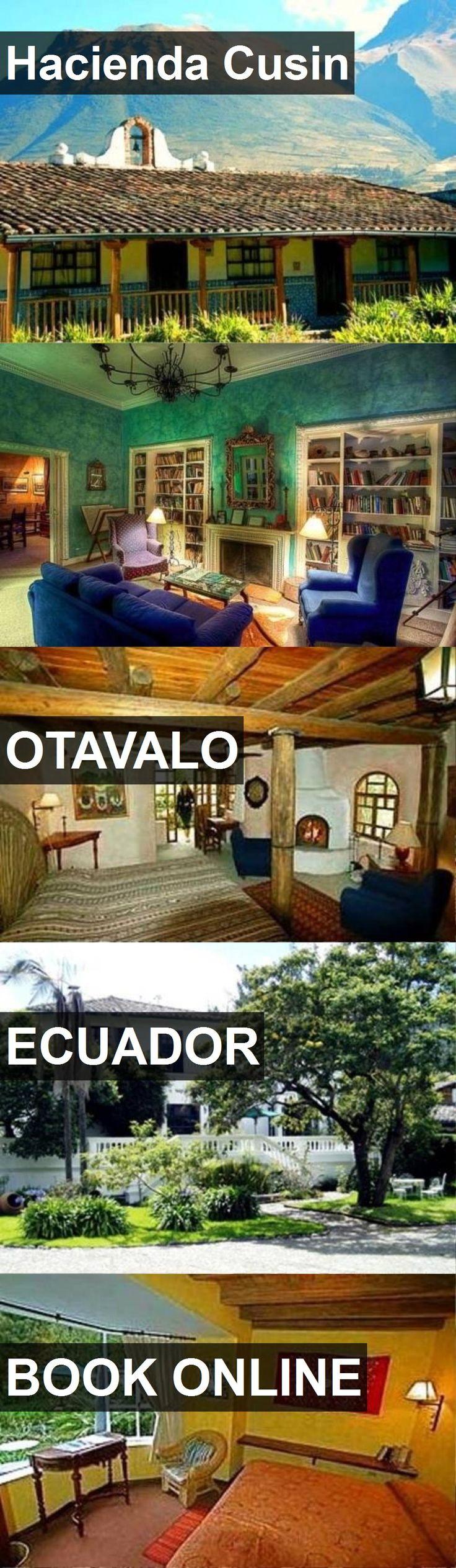 Hotel Hacienda Cusin in Otavalo, Ecuador. For more information, photos, reviews and best prices please follow the link. #Ecuador #Otavalo #travel #vacation #hotel