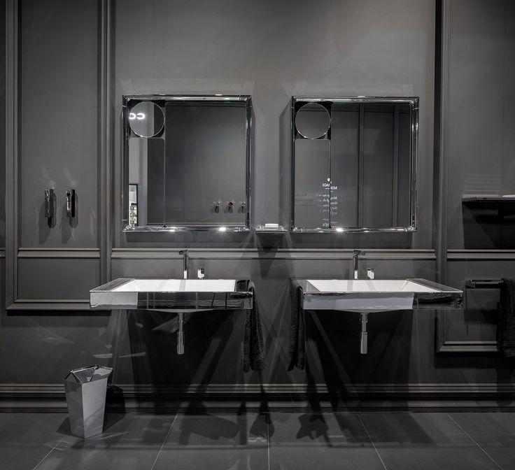 #Mirage by #pomdor la nueva colección de #EugeniQuitllet en #fieradelmobile #milandesignweek #bath #design