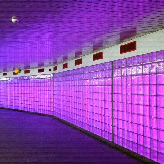 Wie weet waar dit is? Who knows where this is? Wer weiß wo dies ist? . . . . www.kukullus.nl  . . .  #Utrecht #Noordertunnel  #utrechthotspot #utrechthotspots #utrechtmijnstad  #holland #netherlands #Niederlande #utrechtcity #instautrecht  #traveler #traveling #instatravel #travel #light #licht #purple #lila #paars #tunnel