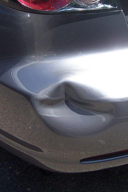 Rear Bumper Repair | Before Bumper Restoration by Sameday Premium Services | Bumper Repair | Car Bumper Repair | Dent Repair in Bumper | Bumper Dent Repair
