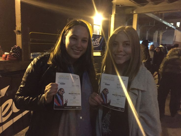 Erin & Jess - winners of the #stormebud #SnoopDoog Northside Birthday Party ticket #contest, hosted by #Tweed