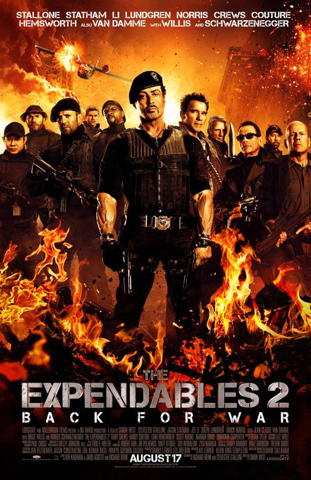 Explosive Expendables 2 poster!