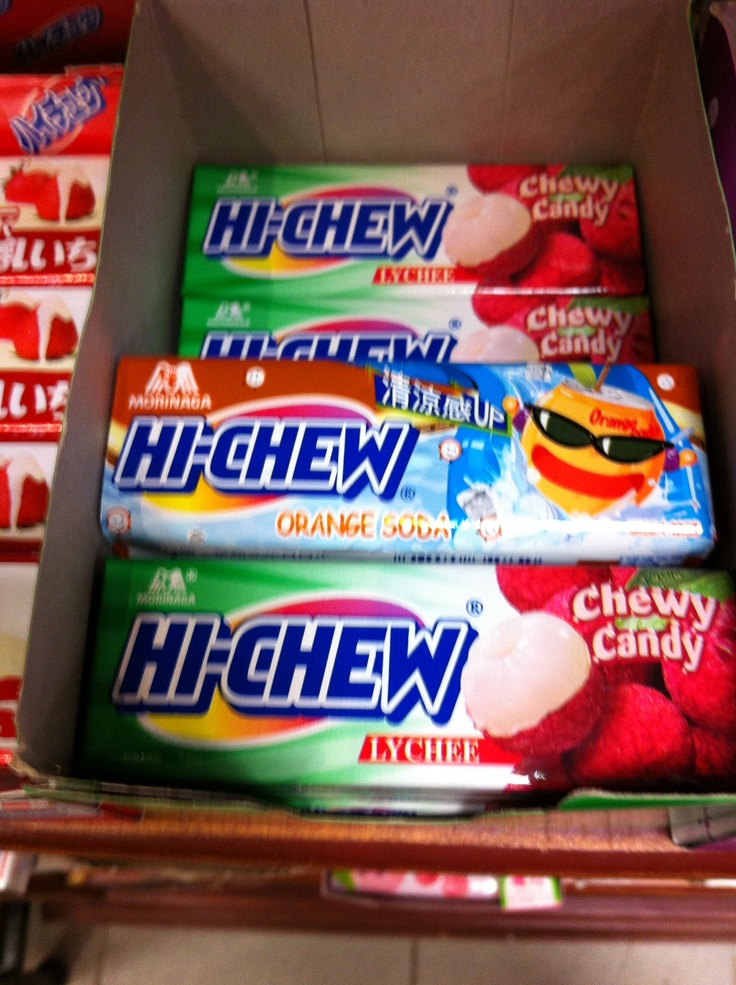 """Candy K Whatlucyloves: Korean Chewy Candy, """"Hi-Chew"""""""