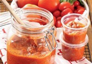 Home-made Tomato-sauce.