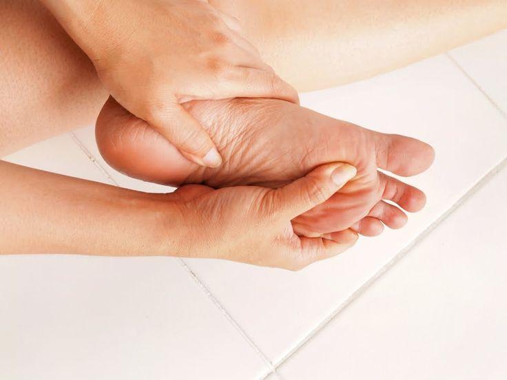 O pés e a necessidade da hidratação!!! :)