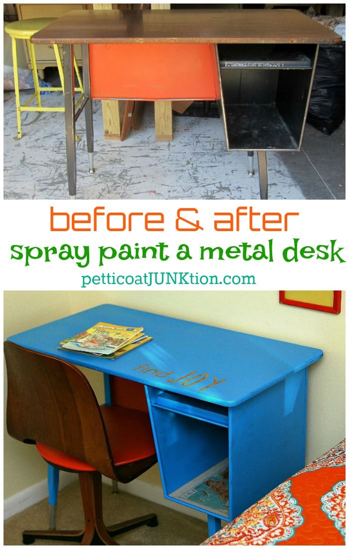 25 Best Ideas About Painted Metal Desks On Pinterest Rustic Office Decor Paint Companies And