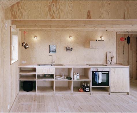 Architect Visit: Johannes Norlander in Sweden : Remodelista - simple porcelain kitchen lights