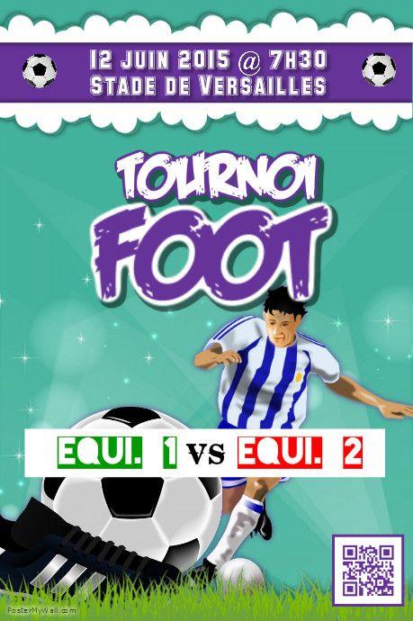Modèle d'affiche pour tournoi de foot http://www.postermywall.com/index.php/poster/view/fd86b8cd0eb921912c63aeac7b81c34a