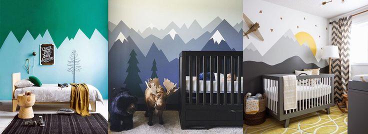 Decor Trend: Mountain Mural