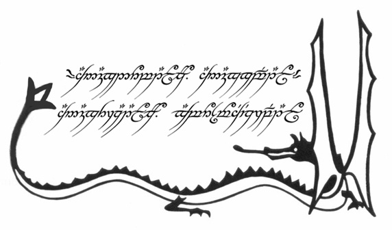 Lord Of The Rings Tattoo Elvish