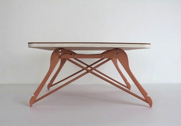 DIY Hanger Project - Snack Table