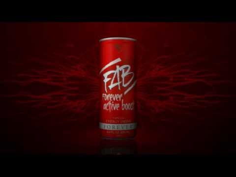 Forever Active Boost - natural energy drink from guarana and aloe vera.