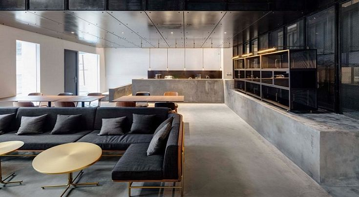 Bekas pabrik senjata roket atau rudal direnovasi menjadi sebuah kantor dan galeri yang modern. #kantor