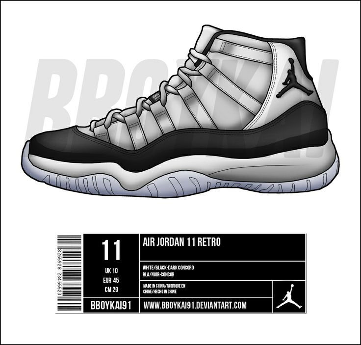 Air Jordan Retro XI Art