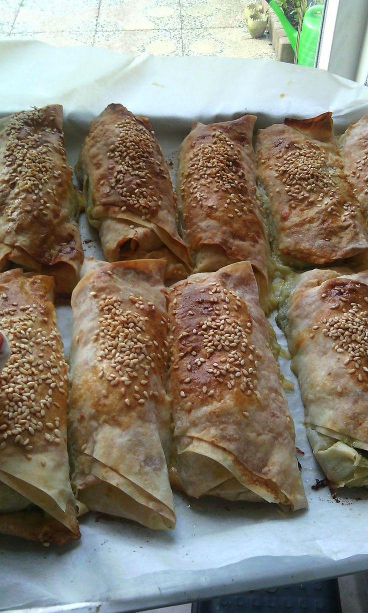 Lekker Turks eten: Spinazie Borek, Ispanakli Borek