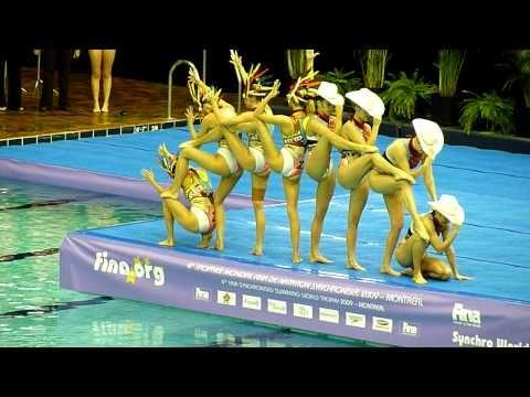 I am no longer a Synchronized Swimmer but this makes me wish I still was!