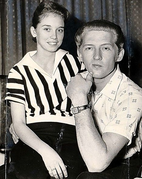 Great Balls of Scandal: How Jerry Lee Lewis' marriage to a 13-year-old wrecked his career #DailyMail