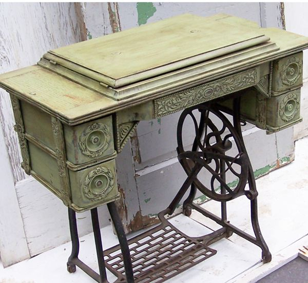 best 25 old sewing cabinet ideas on pinterest vintage sewing table old sewing machine table. Black Bedroom Furniture Sets. Home Design Ideas