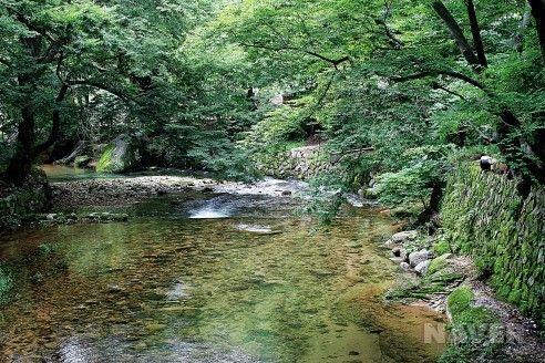 Beopjusa - near Moonjangdaesan in central Korea.