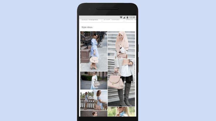 Googleはファッションの画像検索をPinterestふうにする…お得意の機械学習技術を駆使 | TechCrunch Japan  Googleには、Pinterestの野望に検索を乗っ取られる気はない。  Googleの説明では、AndroidアプリやモバイルWebでファッション製品の画像を閲覧していたら、画像検索の画面がアップデートされて、その製品を実生活の中でかっこ良く見せる画像が表示される。たとえばハイヒールの写真を見ていたら、モデルがその靴を履いているファッション写真が表示されるだろう。