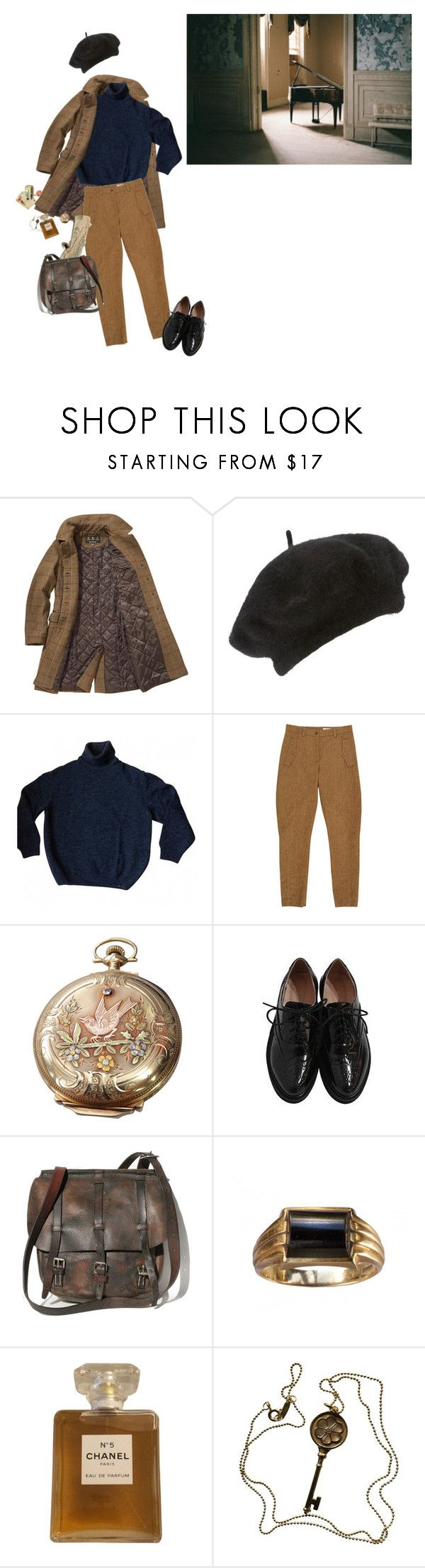 """coldness"" by hurmikakii ❤ liked on Polyvore featuring Barbour, John Lewis, Kenzo, Wunderkind, Elgin, Maybe-Baby, Chanel and Tiffany & Co."