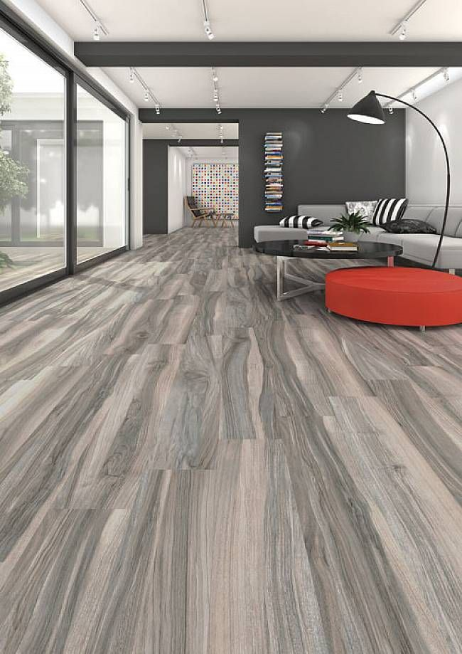 Flooring Porcelain Wood Grain Tiles With Long Planks For