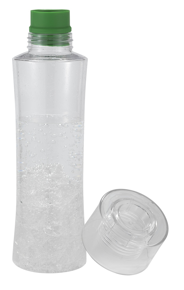 Sports bottle with removable silicone sipper spout