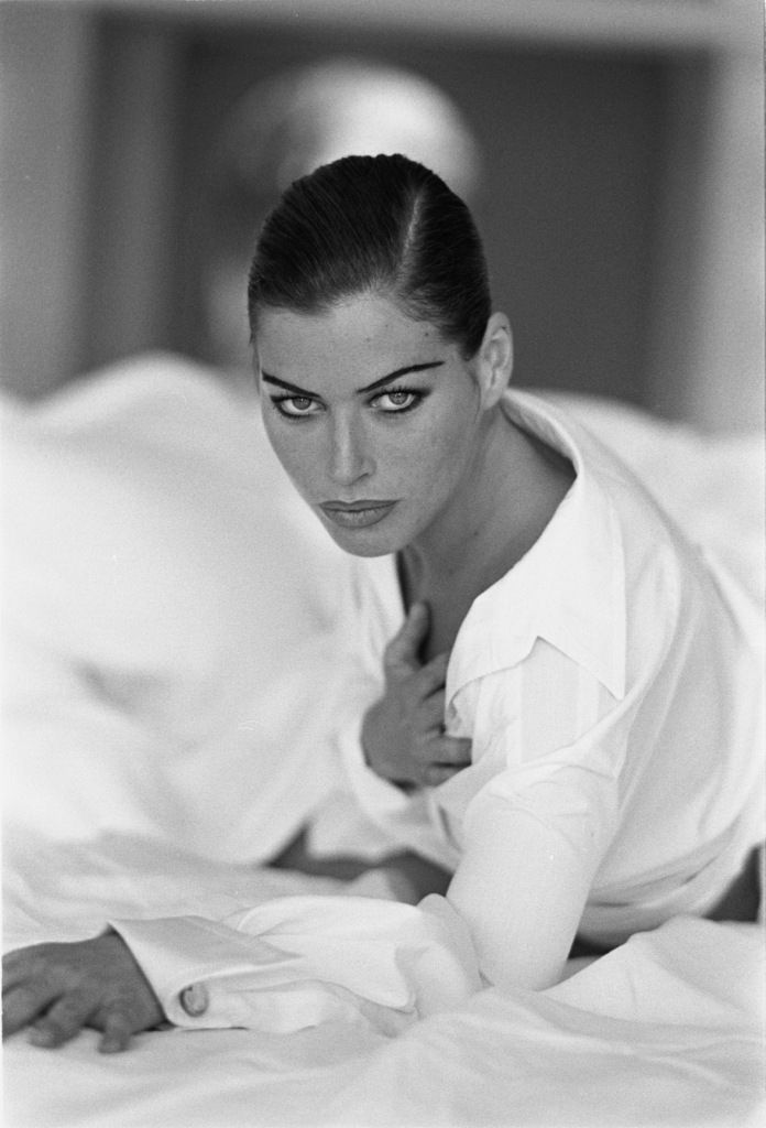 Carré Otis, 1990  Photographer: Andrea Blanch