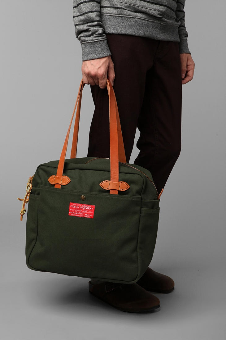 Filson Red Label Zippered Tote Bag 140 Treatyoself Oh