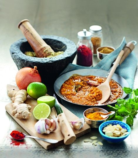 basic curry sauce for korma