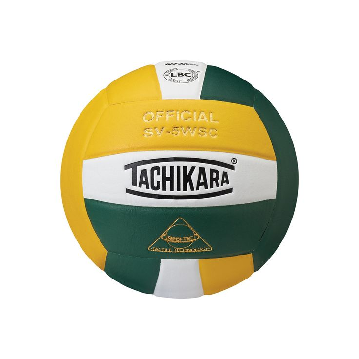 Tachikara Official SV5WSC Microfiber Composite Leather Volleyball, Gold