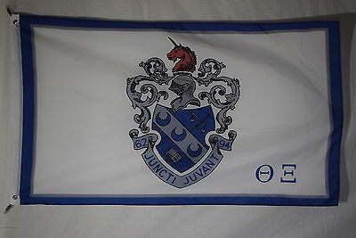 Theta Xi College Fraternity Official Licensed Flag 3x5