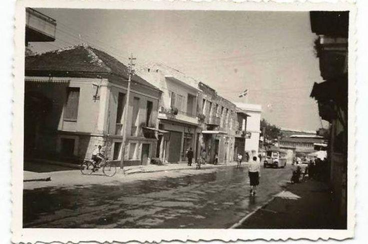 ΧΑΝΙΑ 1954 Η ΟΔΟΣ ΔΗΜΟΚΡΑΤΙΑΣ ΚΑΙ ΤΟΤΕ ΒΑΣΙΛΕΩΣ ΚΩΝΣΤΑΝΤΙΝΟΥ