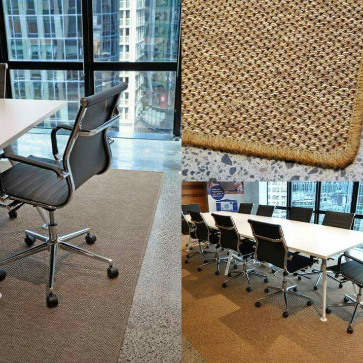 Looking for a simple mat, our Kawau indoor outdoor product can be finished with overlocking, binding or concealed edge.  #outdoorindoor #binding #rugs #officedecor #concealededge #rugbinding