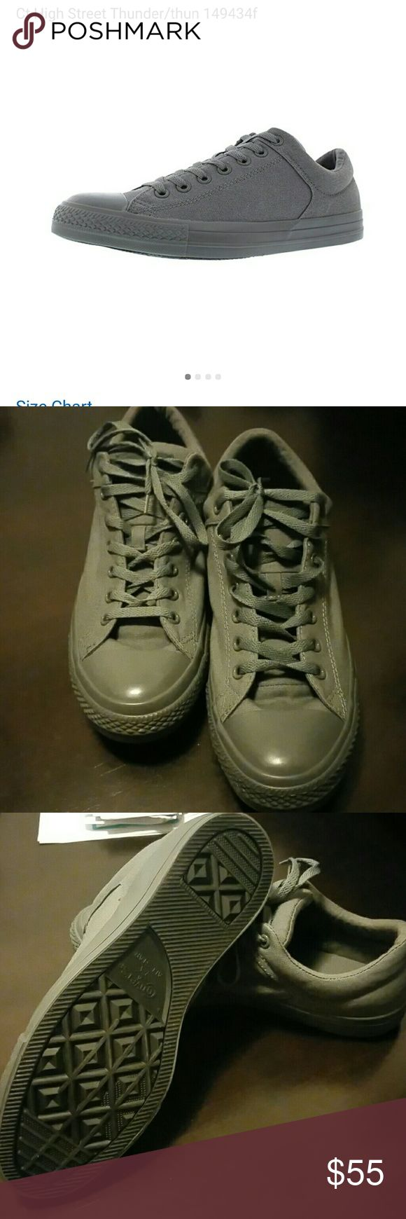 Converse all-star core ox NWOT. Converse all-star core ox. Gray on gray. Men's 11 woman's 13 Converse Shoes Athletic Shoes