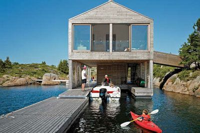 Boat Interiors Floating Home And Boat House Designs