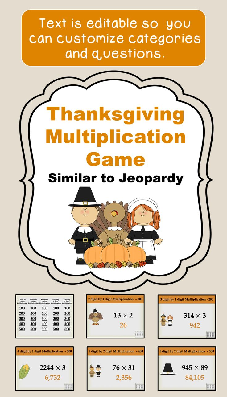 71 best Thanksgiving Resources images on Pinterest | Game boards ...