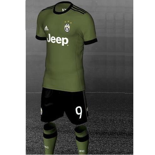 Nueva Camiseta Tercera Tailandia del Juventus 2017 2018 | outlet españa