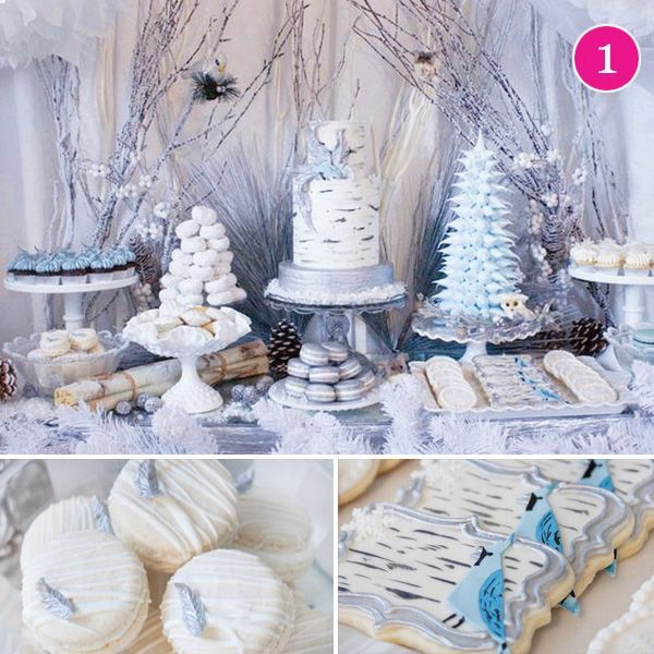 {Party Of 5} Winter Woodland, Bright & Merry, Glam Holiday