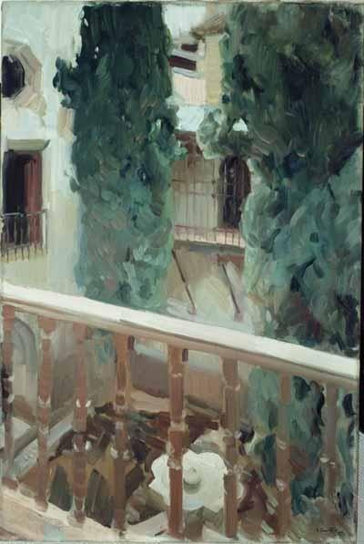 Jardines by Joaquín Sorolla