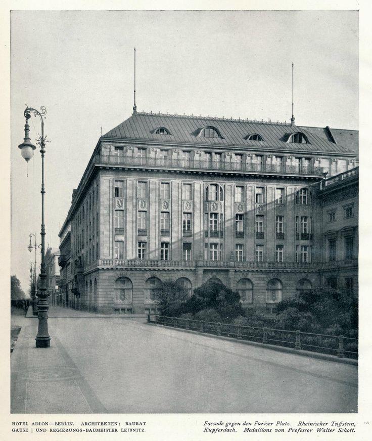 https://flic.kr/p/xhR9To | Innendecoration 1908 Berlin Hotel Adlon  c | de.wikipedia.org/wiki/Hotel_Adlon