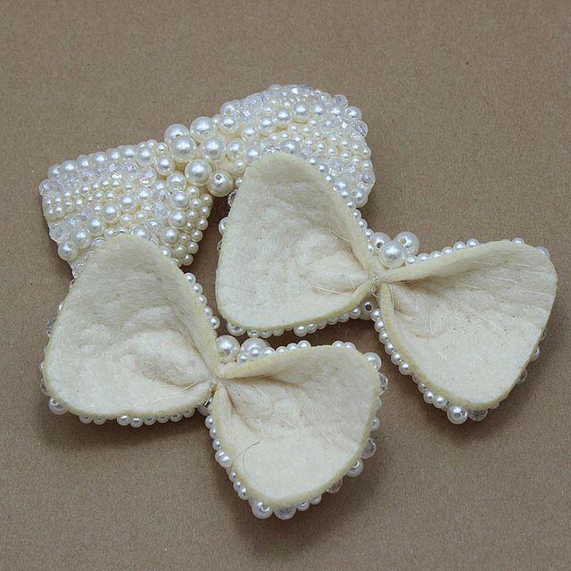 Princesa pérolas arcos DIY acessórios de cabelo grande arco fazer jóias de casamento da dama de honra telefone celular Deco
