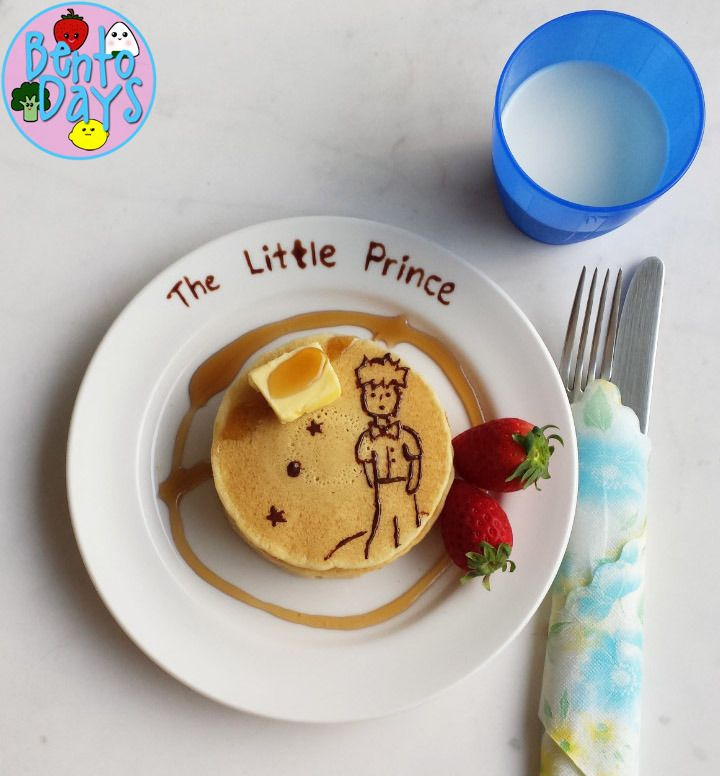 Food Art: The Little Prince | Bento Days - I so wish I had such talent - the girls would love this!