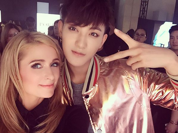 Tao Hangs Out With Paris Hilton and Kendall Jenner at Shanghai Fashion Week