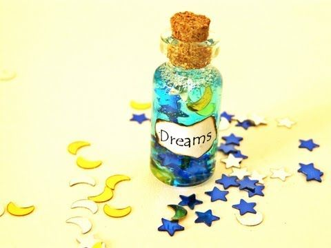 Dreams in a Bottle Charm Tutorial!! I love this, and it's so EASY!!